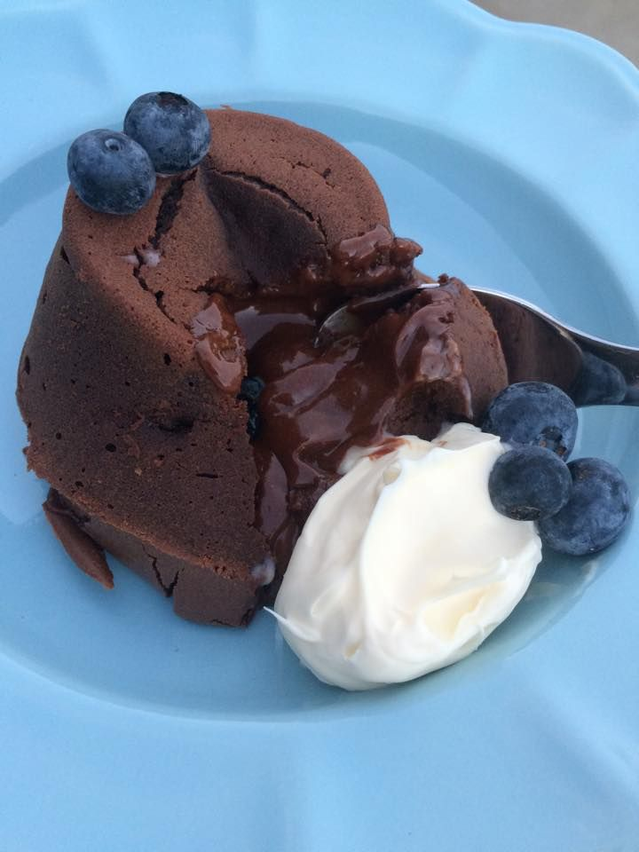 oowy-goowy Thermomix Chocolate Fondants from @thestrandsofme