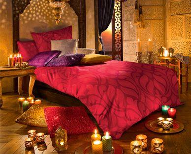 Orientalisches Schlafzimmer à la ALDI