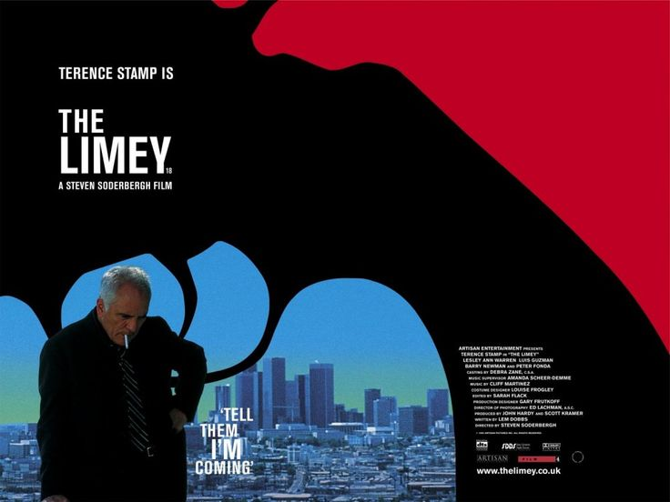 The Limey (1999) | Director Steven Soderbergh Wittily making the most of his star's Cockney credentials, Steven Soderbergh cast Stamp as an ex-con flying to LA to investigate the mysterious death of his daughter; it's not just his rhyming slang but his ingenuity and resilience that take the local hotshots by surprise. Suspense, drama and comedy are beautifully balanced, the supporting cast (Peter Fonda especially) is spot-on, and the judicious use of clips from Loach's Poor Cow is quite…