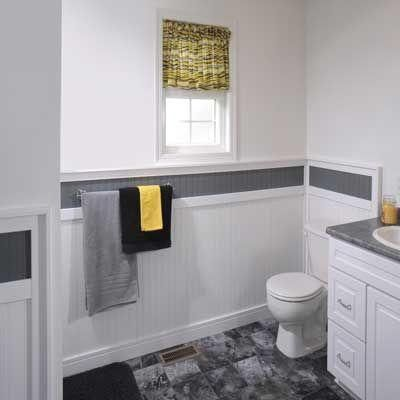 marlite supreme wainscot 8 linear ft mdf paintable white chair rail wainscoting in ideasbead
