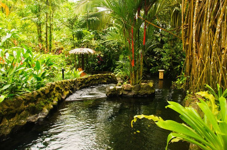 Tabacon Grand Spa Thermal Resort has hot springs and a spa, so you can completely relax. | 12 Places To Stay In Costa Rica You Won't Believe Actually Exist