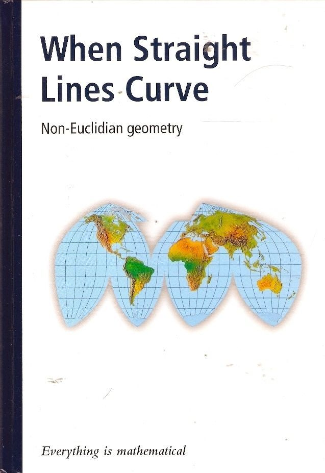 WHEN STRAIGHT LINES CURVE: NON-EUCLIDIAN GEOMETRY. Since the time of Euclid, more than 2000 years ago, there seemed to be only one kind of geometry. However, new developments in mathematics have put forward alternative geometries in which worlds curve in a dizzying fashion. It may seem crazy, but these worlds exist and we live in them all simultaneously.