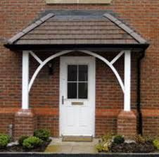 Image result for door canopy with pillars & The 25+ best Door canopy with pillars ideas on Pinterest | Door ...
