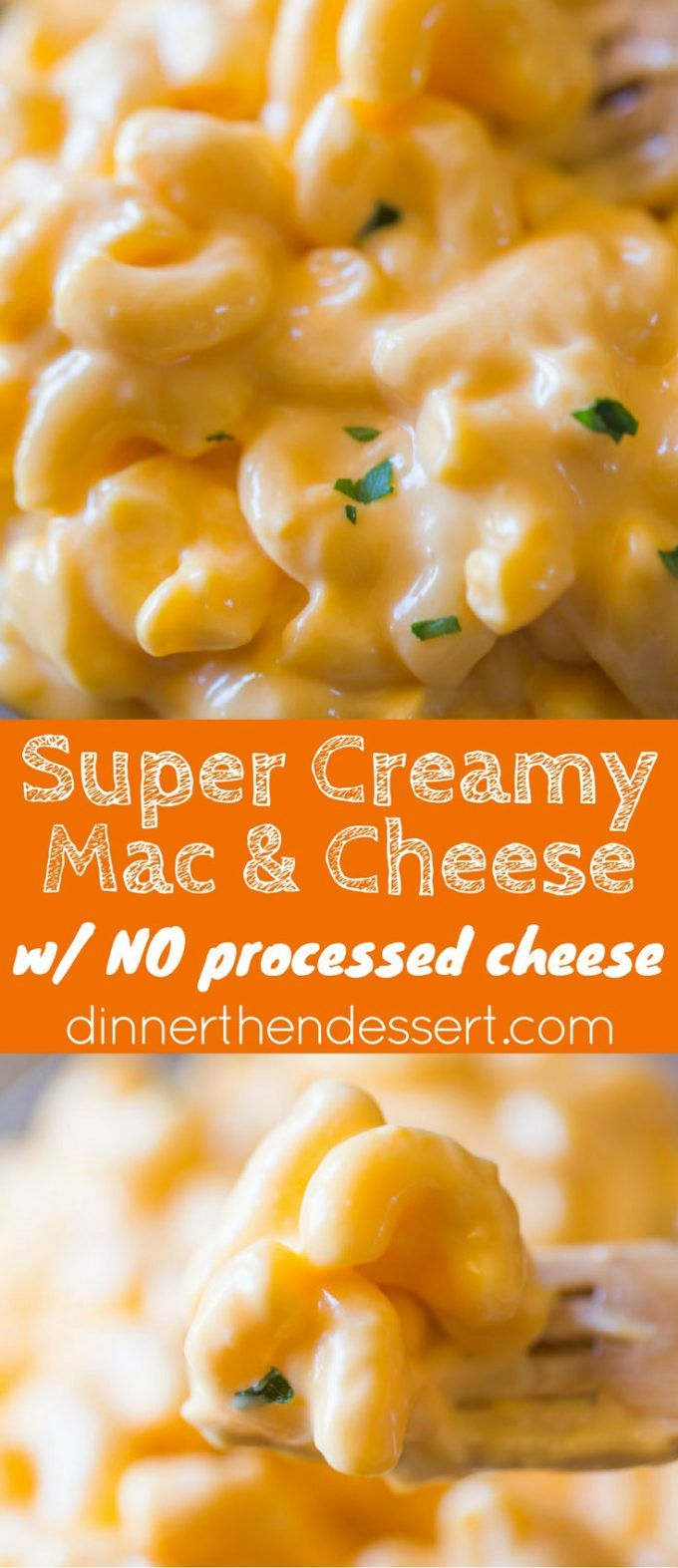 Super Creamy Macaroni and Cheese with no processed cheese in sight, this…