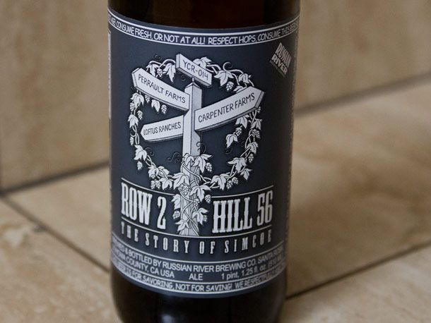 Russian River's new beer, 'Row 2 Hill 56'. I must try it.: River S Row, River Row, Craft Beer, River Brewery, Rivers, Russian River S, Hill 56
