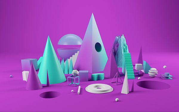 BBC Taster Video - Style Frames & 3D sets on Behance