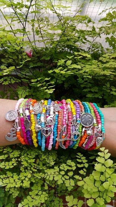 Groothandel armbanden  Boho Chic kleurrijke zomer armbanden