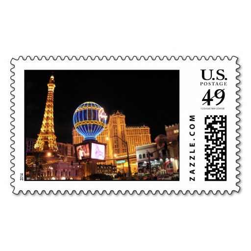 The City of Lights Stamp
