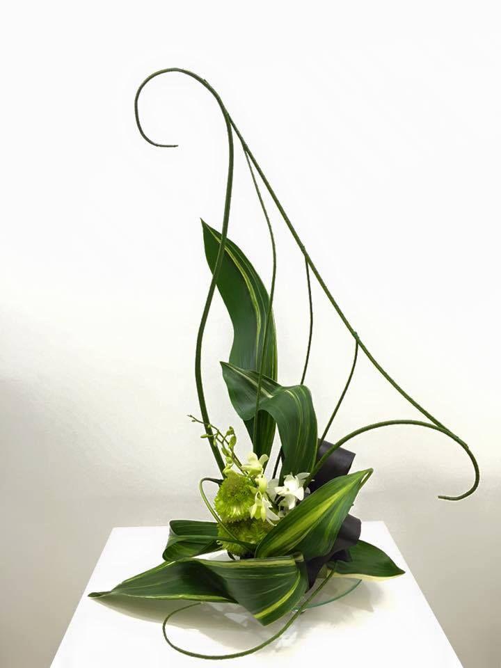 South African Flower Union FB post Japan Flower Design Award 2016
