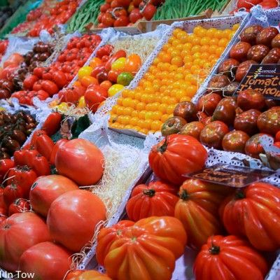Santa Catarina market quickly became one of my favorite markets in the world certainly the best food market in Barcelona!