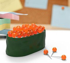 MAKI tacks - sushi Pushpins | Paper Products Online