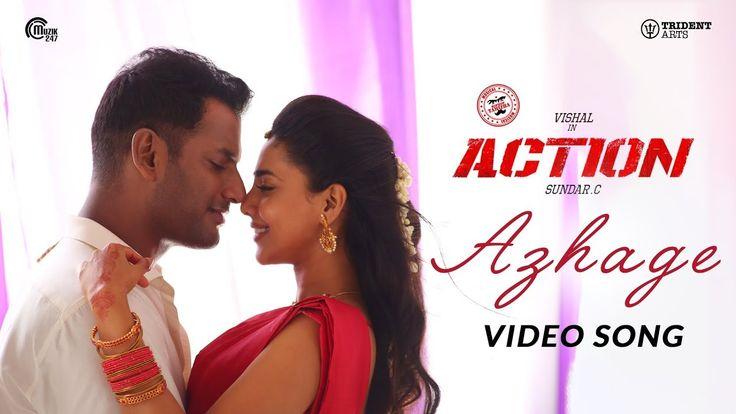 Tamil 2019 Ayyo Azhage Azhage #Action movie Tamil song ...