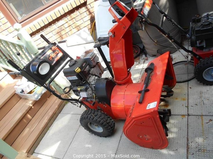 MaxSold - Auction: Nepean Estate Online Auction - Ariens Snowblower 1 sold for $300
