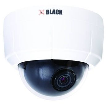 BLACK Network IP Indoor Mini Dome Security Camera BLK-IPD103Superior network IP video solution for professional indoor applications•Superior image quality using 1/3 in Omnivision CMOS sensor•Delivers up to 30 fps...