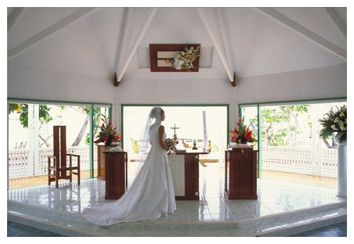 Mana Island Resort's Chapel Interior