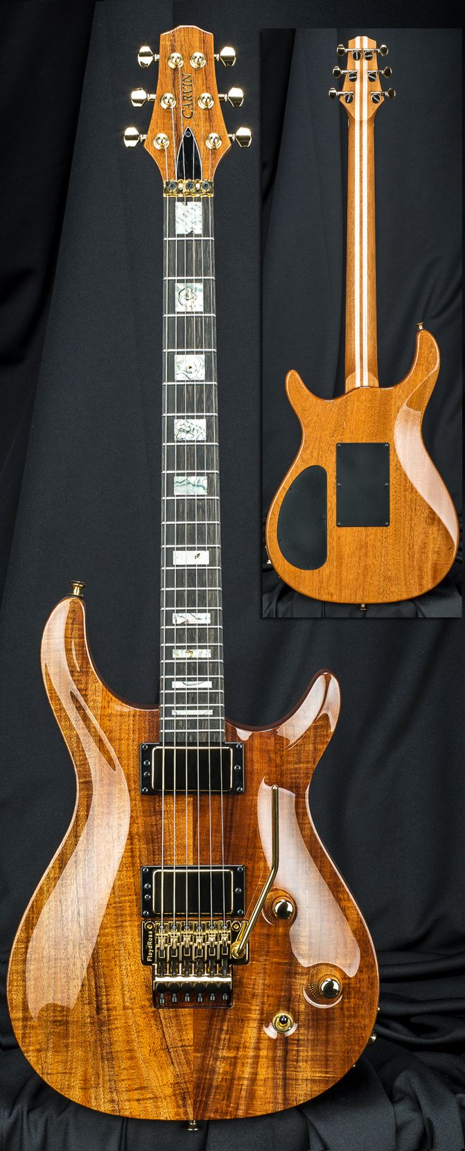 Carvin Guitars CT6C California Carved Top with Floyd Rose Tremolo Serial Number 122354