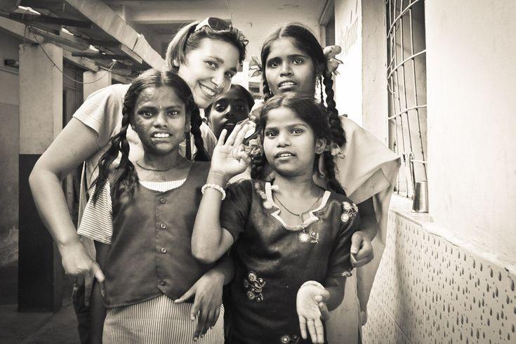 faire des rencontres dans un orphelinat en Inde