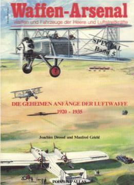 Die Geheimen Anfange Der Luftwaffe 1920-1935 free ebook