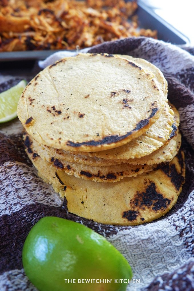 A super simple tutorial on how to make corn tortillas. These gluten free homemade corn tortillas are easy to prepare and taste amazing!