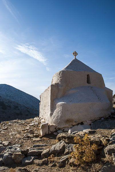 Agios Efstathios, small church on the road to Kalantos