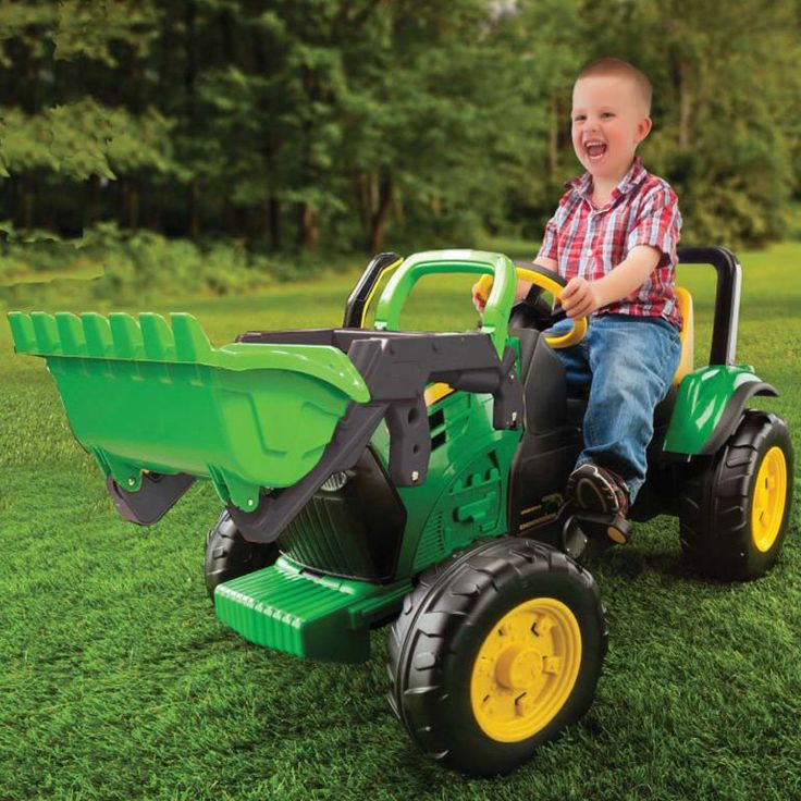 Have to have it. Peg Perego John Deere Front Load Pedal Riding Toy - $218.99 @hayneedle