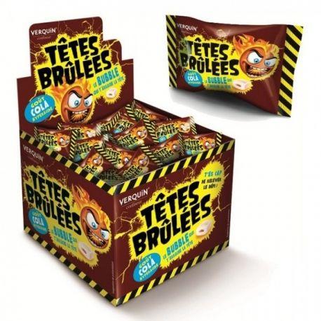Chewing gum Têtes brulées - Disponible sur http://www.bonbon-et-chocolat.com