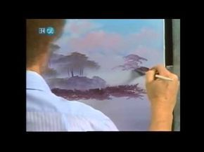 The Joy of Painting S25 08 Cypress Swamp - YouTube
