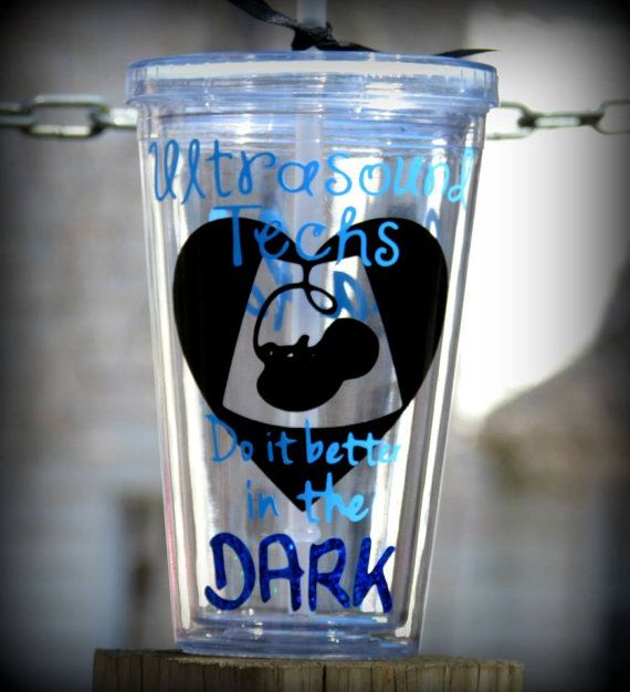 Personalized Ultrasound Technician 16 oz Tumbler Gift for