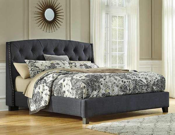 Kasidon 3 Piece King Upholstered Bed Ashley Homestore Canada