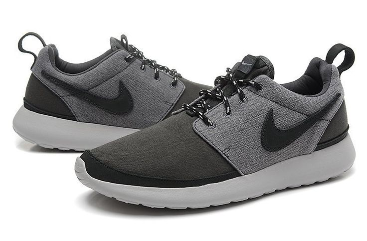nike roshe run mens shoes oreos all black white hot nz
