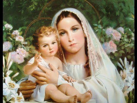 Chants à la très Douce Vierge Marie - YouTube
