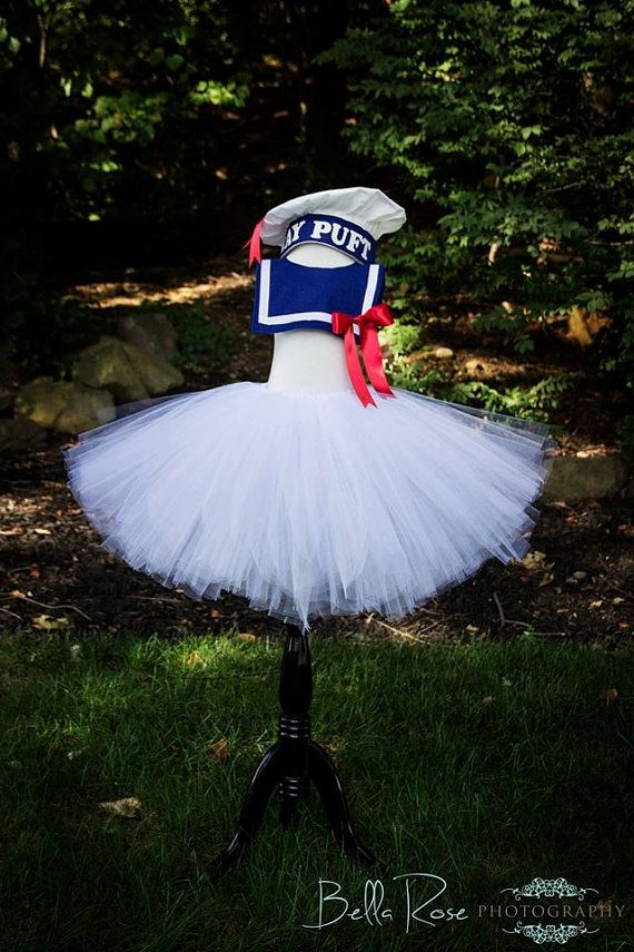 Stay Puft Costume Stay Puft Tutu Ghost by HelloSunshineCo316