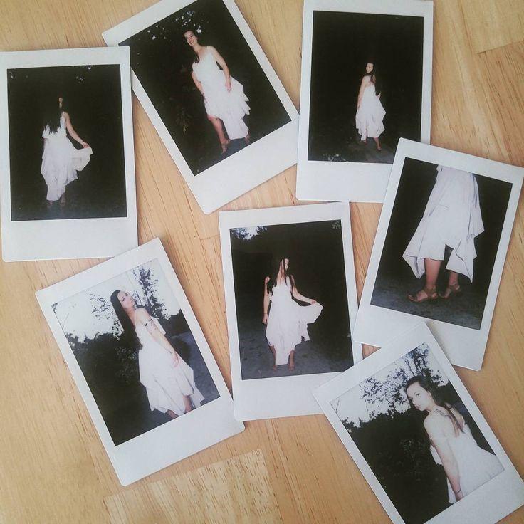 Polaroid fun shooting a custom icedyed mermaid dreaming skirt! 😍✨ #polaroids #polaroidsnap #photoshoot #customskirt #fashiondesigner #fashion #hippie #vibes #bohovibes #drape #inspiration #bestie #fashiondesign #icedyed #mermaiddreaming #gypsy #fun #startup #smallbusiness #canadian #torontofashionbloggers #toronto