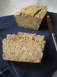 Chleb w stylu fitness z otrąb owsianych