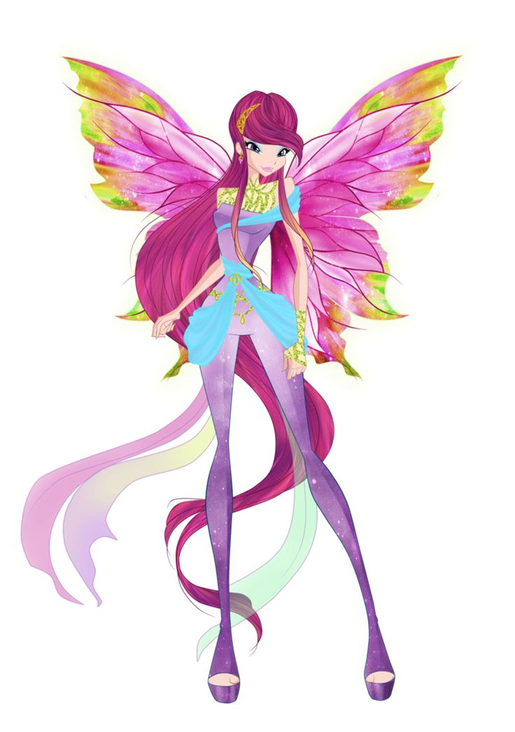 Here is Roxy, the Fairy of Animals from Winx Club in all styles from season 5 of the show. She really deserved to stay a Winx member and one of the protagonists after S4 instead of get demoted to a...