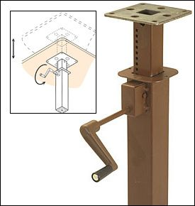 Single Crank Table Mechanism Hardware 170 Projects