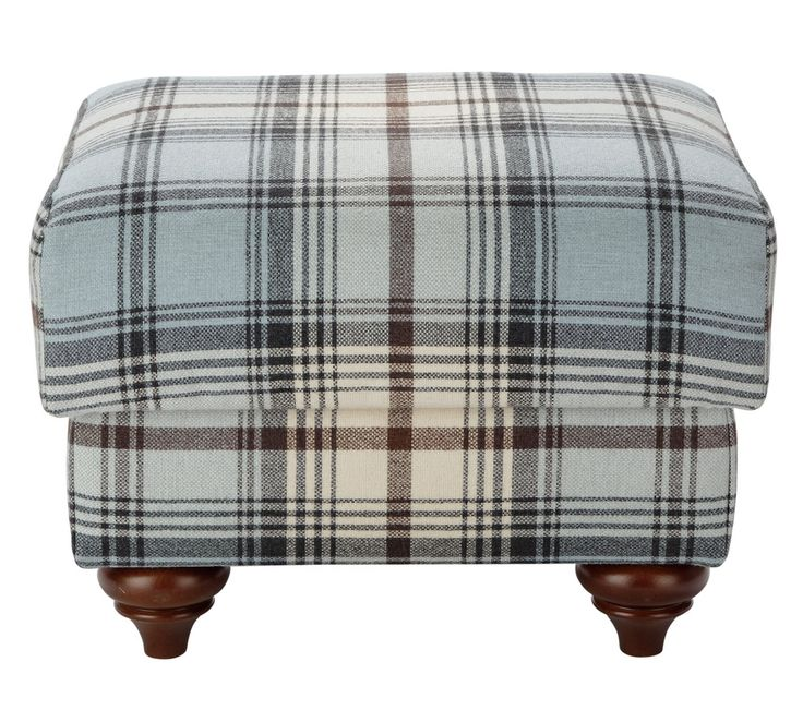 Buy Heart of House Argyll Fabric Storage Footstool - Skye Tartan at Argos.co.uk - Your Online Shop for Footstools, Living room furniture, Home and garden.
