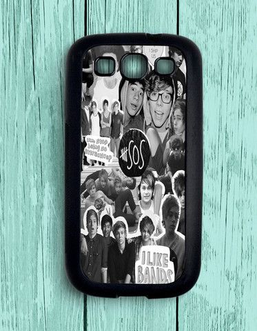 5 Second Of Summer Collage 5 SOS Art Music Samsung Galaxy S3 | Samsung S3 Case