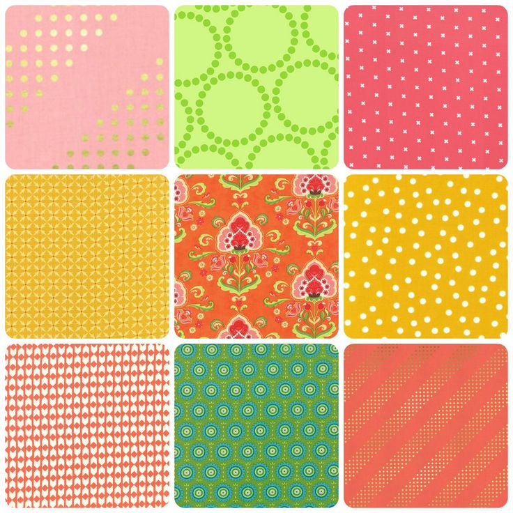 Mad About Patchwork - Modern Fresh Fun Fabric