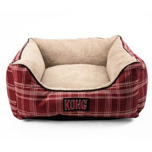KONG® Dog Bed is perfect for cats. They are durable, with thick, pillow-like sides, and can accommodate two grown snugglers or a nest of kittens. They also wash and dry well in home machines.