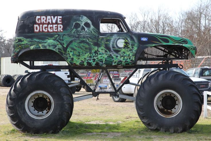 The Story Behind Grave Digger The Monster Truck Everybody