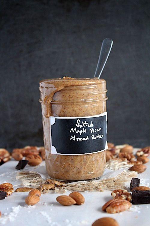 Salted Maple Pecan Almond Butter Vegan Gluten No cost ...
