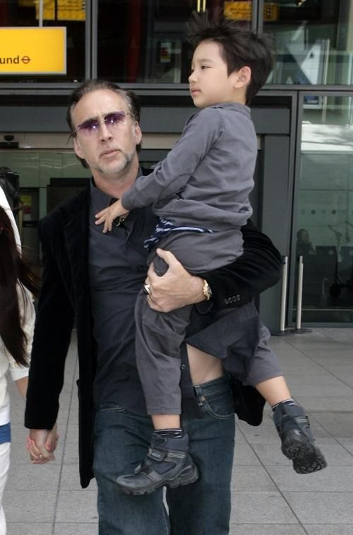 Kal-El Coppola – Nicholas Cage:  Nic Cage named his son after Superman's Krypton identity. But why wouldn't you just name him Clark? That's a win, win.