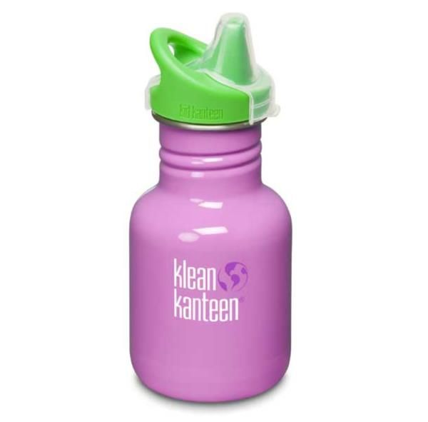 Klean Kanteen Cactus Flower 355ml Sippy Bottle Kid Kanteen Australia.  Our ultimate sippy cup, these are high quality bottles that are easy for little hands to hold. 18/8 Food grade stainless steel make these BPA free bottles a number one choice to avoid toxins from plastic or epoxy linings and coatings and avoid contact with aluminium. $19.95