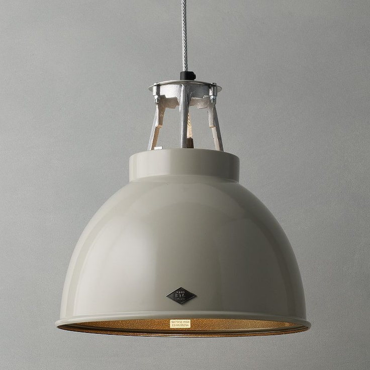 Original BTC Titan Ceiling Light From John Lewis