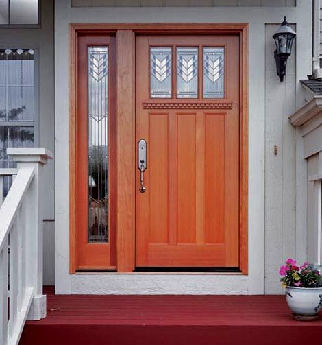 1000 images about arts crafts entryways on pinterest for Front door with three windows