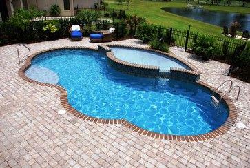Trilogy Freeform Pools Gemini Pool In River Rock Color Hydrostone Backyard Pool Ideas