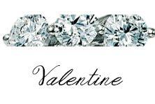 #Valentine #Bibigi , #Bibigì .  Un must per chi non sa rinunciare al classico solitario, anello o parure, una collezione classica dalla montatura delicata ma curata nei più piccoli particolari.