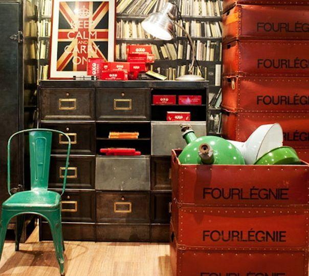 Vintage Store -Quintessential duckegg blue in Balmain Sydney
