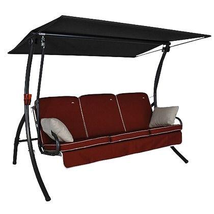 Hollywoodschaukel 549,99 € <3 Hier kaufen: http://www.stylefruits.de/wohnen/hollywoodschaukel-angerer/w3801349 #Garten #relax #Sitzmoebel